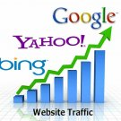 UNLIMITED Website Traffic Low Bounce For 30 Days - 100% Real