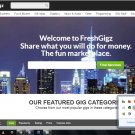 Fiverr Clone Script PHP Website - Make Money Online
