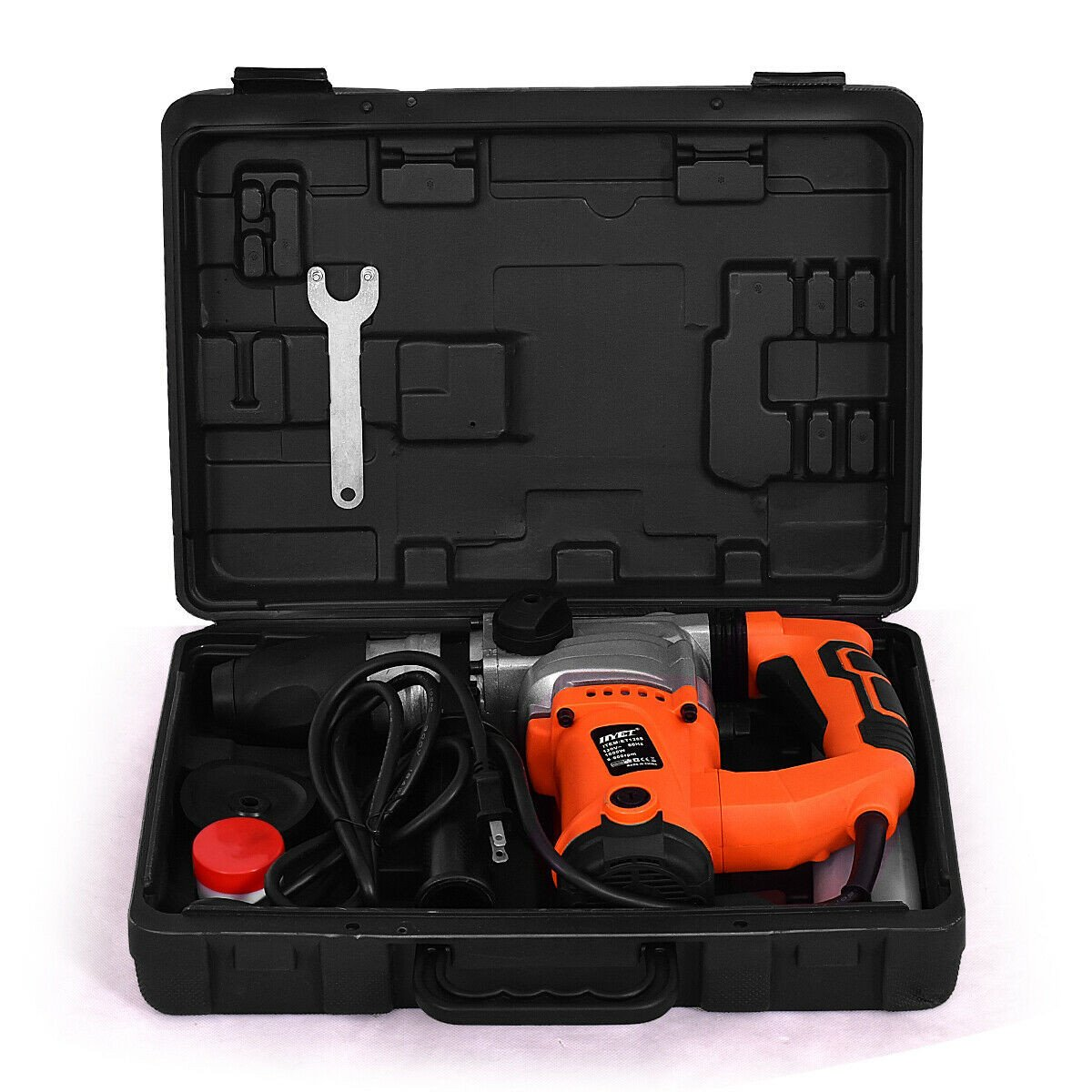 1000W Electric Rotary Hammer Drill with Chisel Kit