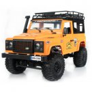 4WD Rc Car W/ Front LED Light 2 Body Shell Roof Rack