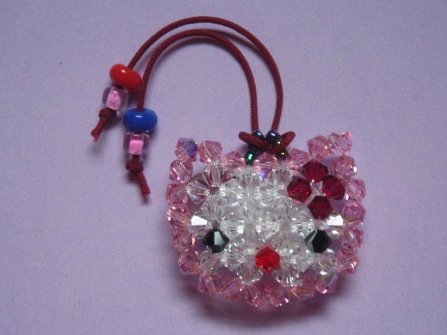 Swarovski Crystal Hello Kitty Cell Phone Charm - CPCR001
