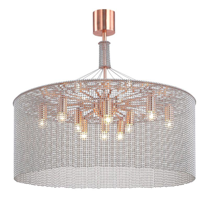 SLS9640 NGOMA DRUM CHANDELIER