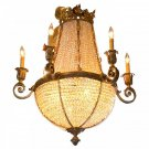 SLM3446 TRADITIONAL TROPICAL CHANDELIER