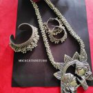 Radhakrishna Jewelry set, Oxidised German silver Jewelry set, Free shipping