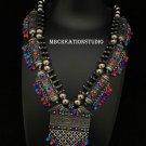 Afghani.boho gypsy necklace,Banjara Neacklace,tribal jewelry Free shipping