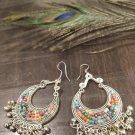 Dangle and drop Earrings ,filigree bead earrings, Danglers, Free shipping