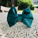 Green Velvet Bow Tie Collar