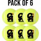 CA SWING PACK OF 6 TENNIS Ball, Tape Ball, Soft Balls, Cricket Balls, Practice Ball