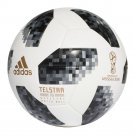 ADIDAS BLACK TELSTAR SOCCER BALL FIFA WORLD CUP 2018 RUSSIA MATCH FOOTBALL SIZE 5