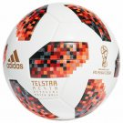 ADIDAS RED TELSTAR SOCCER BALL FIFA WORLD CUP 2018 RUSSIA MATCH FOOTBALL SIZE 5