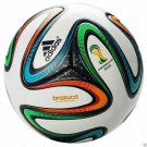 ADIDAS BRAZUCA SOCCER BALL FIFA WORLD CUP 2014 THERMAL BOUNDED SEAMLESS TRAINING FOOTBALL SIZE 5