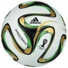 ADIDAS BRAZUCA RIO SOCCER BALL FIFA WORLD CUP 2014 THERMAL BOUNDED SEAMLESS TRAINING FOOTBALL SIZE 5