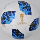 BLUE ADIDAS TELSTAR SOCCER BALL FIFA WORLD CUP 2018 RUSSIA MATCH FOOTBALL SIZE 5