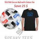 XS - 8XL Cotton Tshirt with Adidas Tsubasa Soccer Ball-Football Plus Size Tees T shirts