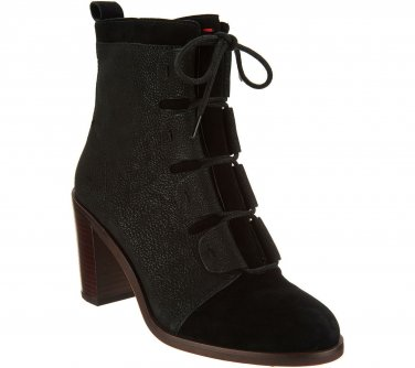 ED Ellen DeGeneres Suede Lace-up Shoes Dax Steel Blue Women/'s Size 5 New
