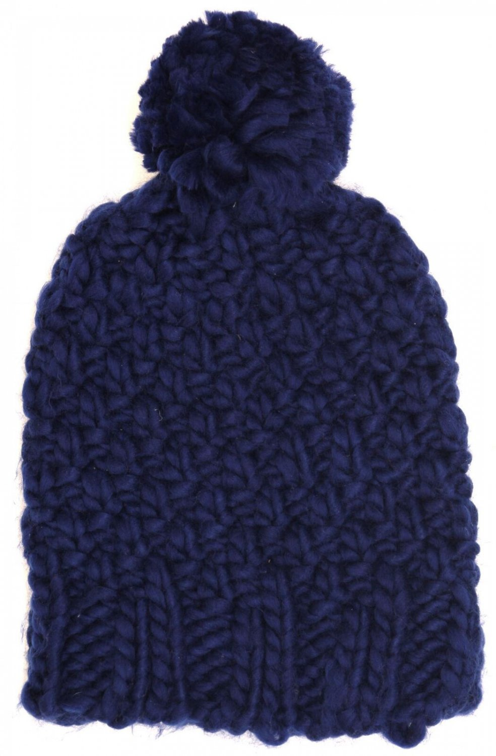 Mossimo Women's Chunky Knit Beanie Blue One Size