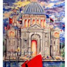 Celebration of Praise (2007) 14 x 18 framed art print
