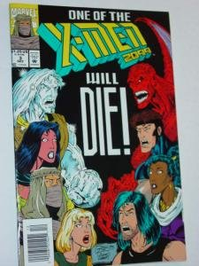 #3 One of The X-Men Will Die 2099 Comic Book Volume 1 1993