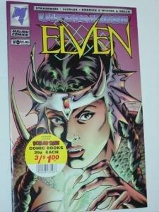 #0 ULTRAVERSE ELVEN Comic Book by Malibu Volume 1 1994