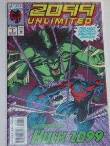 #1 2099 HULK UNLIMITED Marvel Direct Edition Comic Book