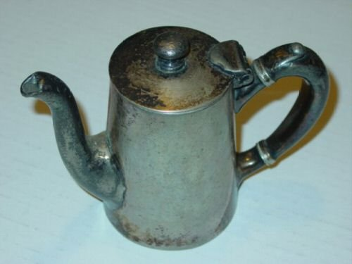 Antique Silver Plated on Nickle Pitcher by Albert Pick