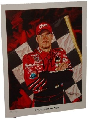 DALE EARNHARDT JR Signed / Autographed Limited Ed Photo