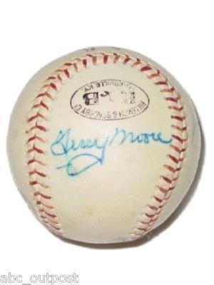 Autograph Baseball Cardinals Terry Moore & Al Hrabowski