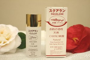 SQUALANE Natural Pure Essential Oil-40ml, product of Japan