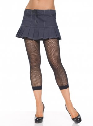 Lycra Fishnet Footless Tights- O/S CANDY PINK
