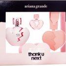 Ariana Grande Thank You Perfume Eau de Parfum Gift Set.