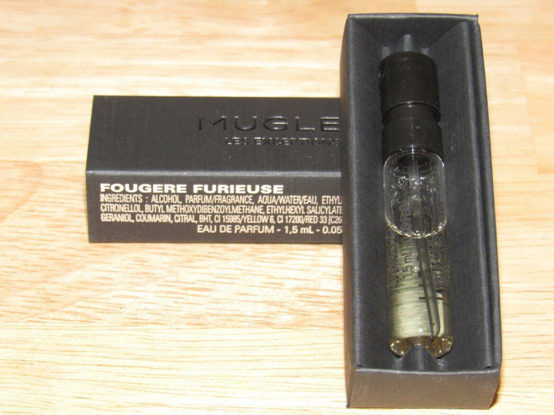 Thierry Mugler Les Exceptions Fougere Furieuse Eau de Parfum 0.05 oz Sample spray.