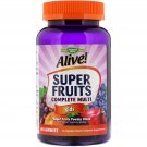 Nature's Way, Alive! Super Fruits Complete Multi, Kids, Pomegranate Cherry, 60 Gummies