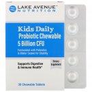 Lake Avenue Nutrition, Kids Daily Probiotic Chew, Natural Berry Flavor, 5 Billion CFU, 30 Chew Tab