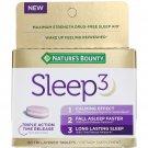 Nature's Bounty, Sleep3, 60 Tri-Layered Tablets