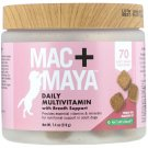 Nature's Bounty, Mac + Maya, Daily Multivitamin with Breath Support, For Dogs, 70 Soft Chews