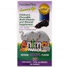 Nature's Plus, Children's Chewable, Natural Grape Flavor, 180 Animals