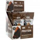 Optimum Nutrition, Protein Almonds, Dark Chocolate Truffle, 12 Packets, 1.5 oz (43 g) Each