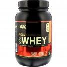 Optimum Nutrition, Gold Standard, 100% Whey, Strawberry Banana, 2 lbs (907 g)