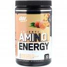 Optimum Nutrition, Essential Amin.O. Energy, White Peach Tea, 9.5 oz (270 g)