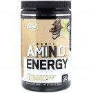 Optimum Nutrition, Essential Amin.O. Energy, Iced Cafe Vanilla Flavor, 10.6 oz (300 g)