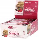 Optimum Nutrition, Protein Wafers, Chocolate Raspberry Creme, 9 Packs, 1.45 oz (41 g) Each