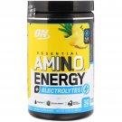 Optimum Nutrition, Essential Amin.O. Energy + Electrolytes, Pineapple Twist, 10.05 oz (285 g)