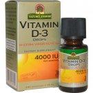 Nature's Answer, Vitamin D-3 Drops, 4,000 IU, 0.5 fl oz (15 ml)