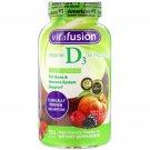 VitaFusion, Vitamin D3, Natural Peach & Berry Flavors, 50 mcg (2,000 IU), 150 Gummies