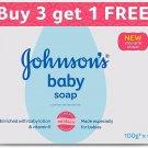 Johnson's Baby Soap 100g  Pack of 4