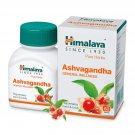 Himalaya Wellness Pure Herbs Ashvagandha General Wellness 60Tablet,Relief stress
