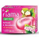 Fiama Gel Bar,Patchouli & Macadamia,125g Pack of 3,Handcrafted using ITC's  LFT