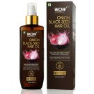 WOW Skin Science Onion Black Seed Hair Oil 200ml, Controls Hair Fall
