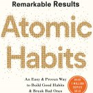 Atomic Habits: The life-changing million copy bestseller – 30 October 2018