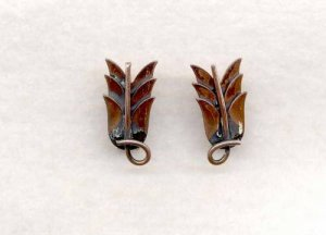 Rebajes Copper Earrings
